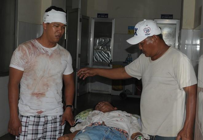 Gia đình 2 anh em đánh nhau, 7 người nhập viện 1