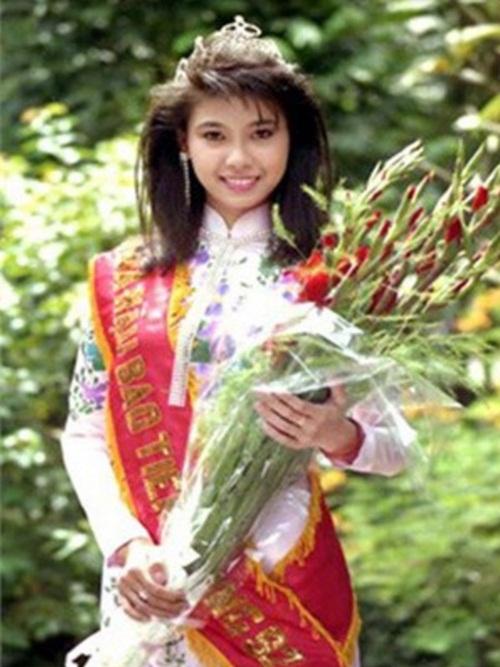 Nhan sắc Hoa hậu Hà Kiều Anh ngày ấy - bây giờ 1