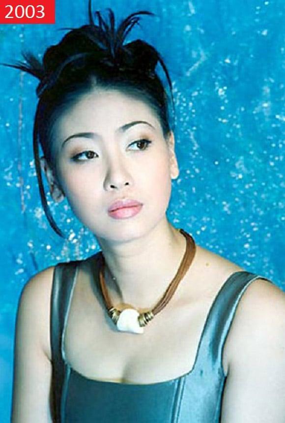 Nhan sắc Hoa hậu Hà Kiều Anh ngày ấy - bây giờ 3