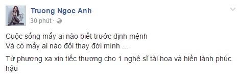 Sao Việt đau lòng trước sự ra đi của Minh Thuận 9