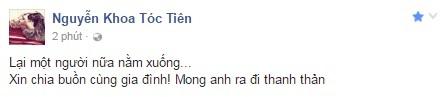 Sao Việt đau lòng trước sự ra đi của Minh Thuận 1