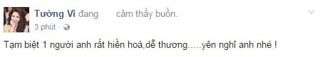 Sao Việt đau lòng trước sự ra đi của Minh Thuận 2