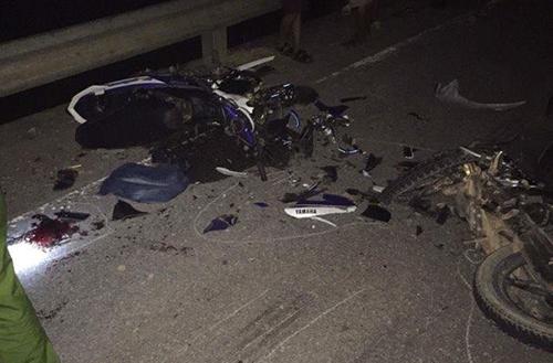 Hai xe máy đối đầu khiến 3 người chết tại chỗ 1