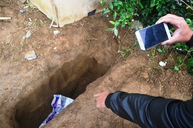 Chồng viết thư tuyệt mệnh chỉ chỗ phi tang xác vợ 1