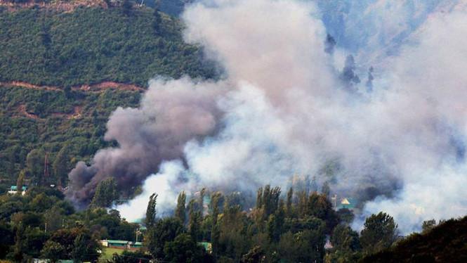 Khủng bố tại căn cứ quân sự Ấn Độ, 17 binh sĩ thiệt mạng 1
