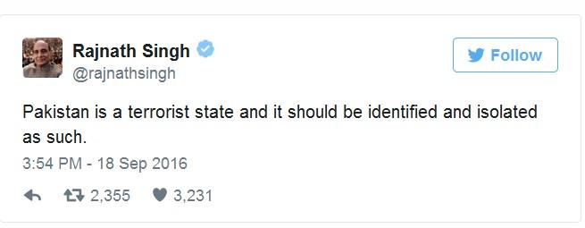 Bộ trưởng Ấn Độ: