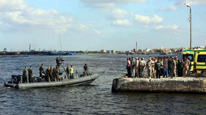 Chìm tàu ngoài khơi Ai Cập, vớt được hơn 160 thi thể 1
