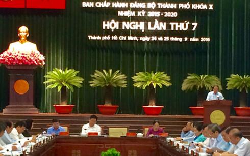 Khai mạc hội nghị Thành ủy TP.HCM lần thứ 7 - Khóa X 1