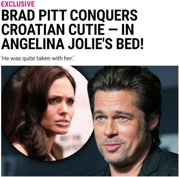 Rộ tin Brad Pitt ngoại tình và đánh đập Angelina Jolie 1