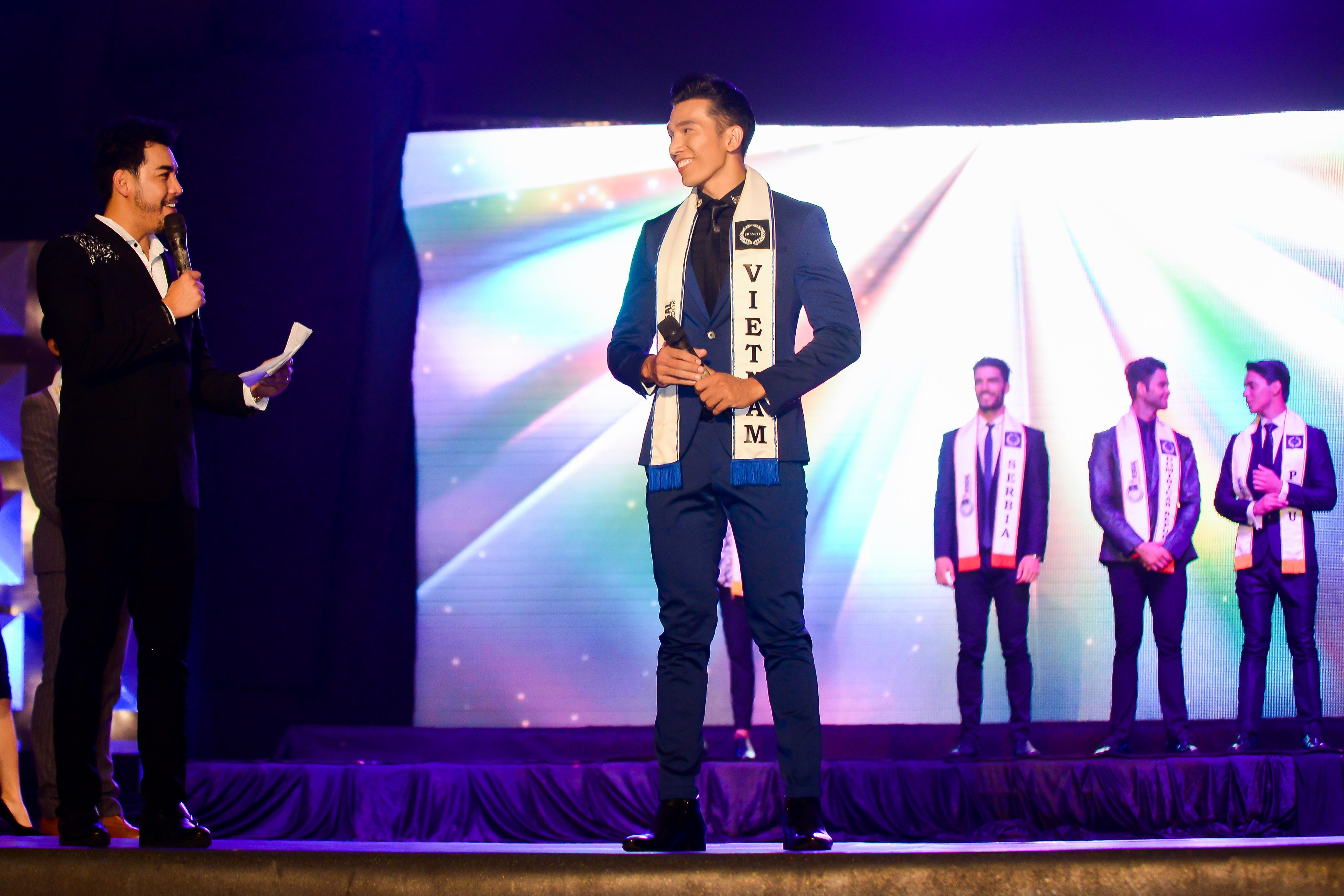 Ngọc Tình giành ngôi Á vương 1 tại Nam vương Đại sứ Hoàn cầu 2016 5