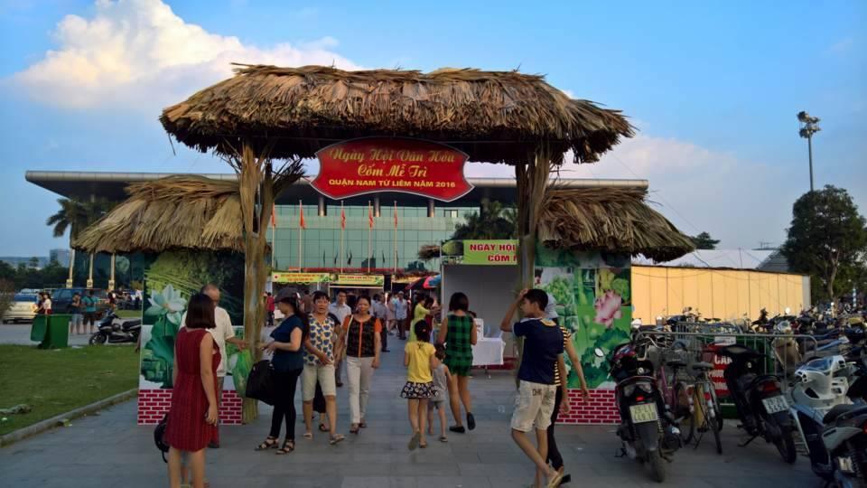 Độc đáo lễ hội văn hóa làng Cốm Mễ Trì 1