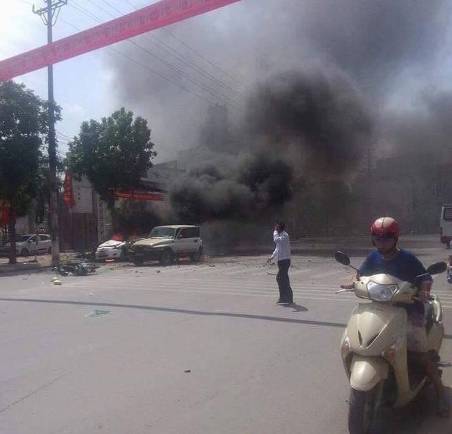 Chùm ảnh hiện trường vụ nổ kinh hoàng ở Quảng Ninh, 2 người chết 2
