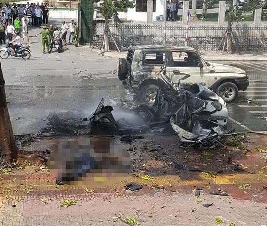 Chùm ảnh hiện trường vụ nổ kinh hoàng ở Quảng Ninh, 2 người chết 4