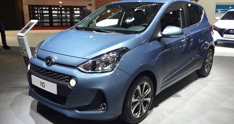 Hình ảnh Hyundai i10 2017 lộ diện những bức ảnh đầu tiên số 1