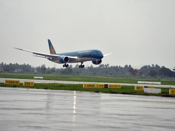 Máy bay Boeing của Vietnam Airlines bị hỏng động cơ vì va phải chim 1