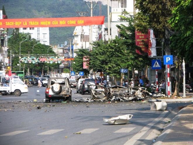 Tình tiết chấn động vụ taxi nổ như bom ở Quảng Ninh, 2 người chết 1