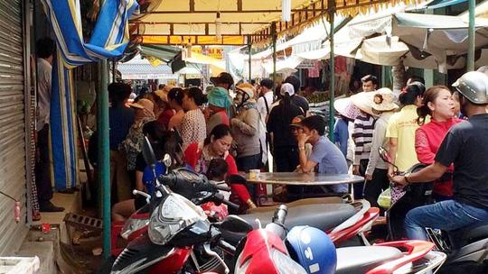 4 người thương vong sau cuộc hỗn chiến tại chợ ở Sài Gòn 1