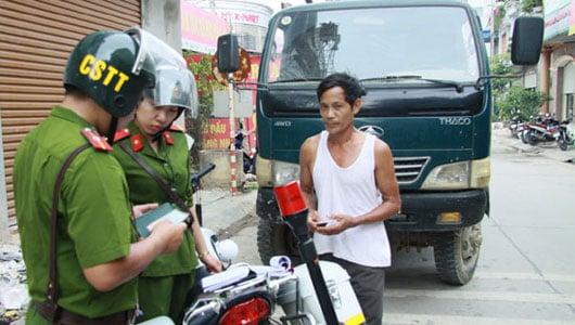 Cảnh sát trật tự có được dừng xe, xử phạt vi phạm giao thông? 1