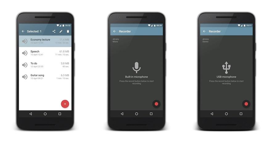 Top 5 ứng dụng ghi âm chất lượng cao cho Android mà bạn nên dùng 5
