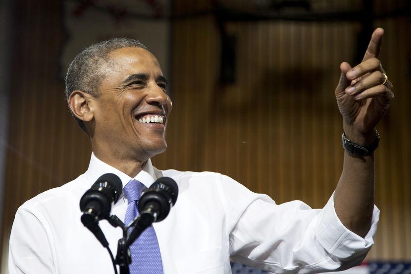 Obama phá kỷ lục tín nhiệm của bản thân 1