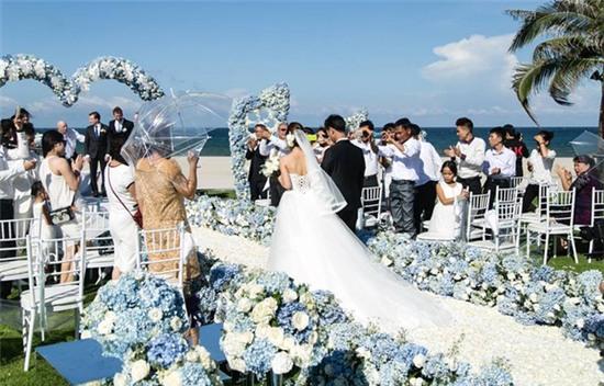 Cận cảnh đám cưới xa hoa của cô dâu Ninh Bình và tỷ phú Canada 4