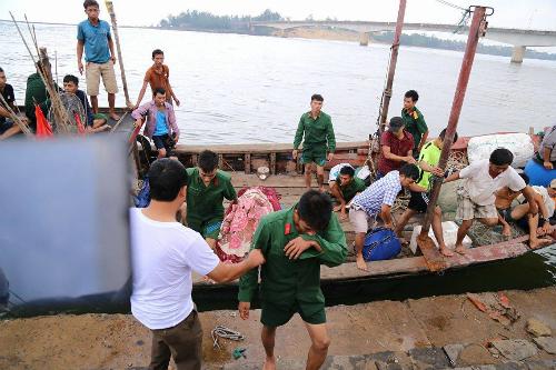 Chìm tàu ở khu vực đảo Cồn Cỏ, một nạn nhân tử vong 1