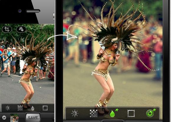 5 ứng dụng hỗ trợ tạo ảnh xóa phông tương tự iPhone 7 Plus 2