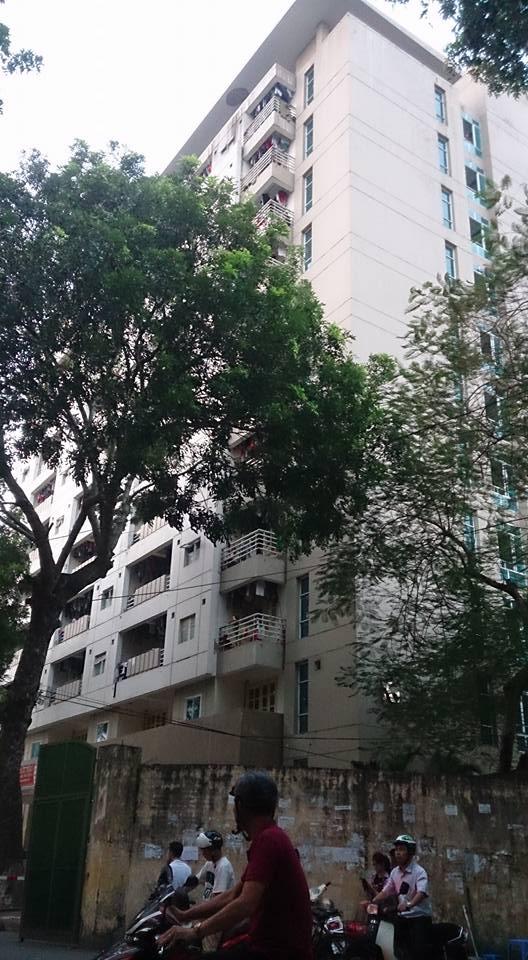 Hà Nội: Nam sinh rơi từ tầng 7 ký túc xá Đại học Thủy Lợi tử vong 1