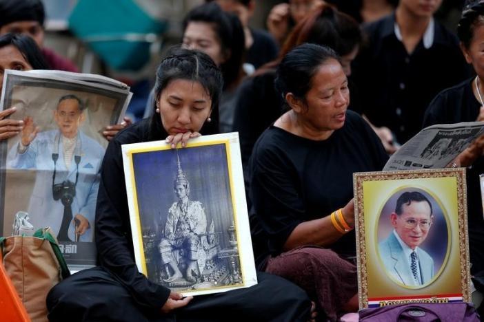 Thái Lan bất định, u buồn khi không còn quốc vương Bhumibol 1