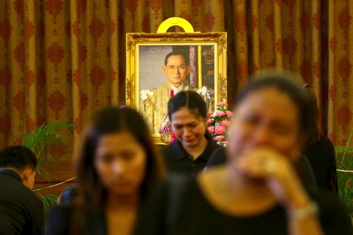 Thái Lan bất định, u buồn khi không còn quốc vương Bhumibol 3