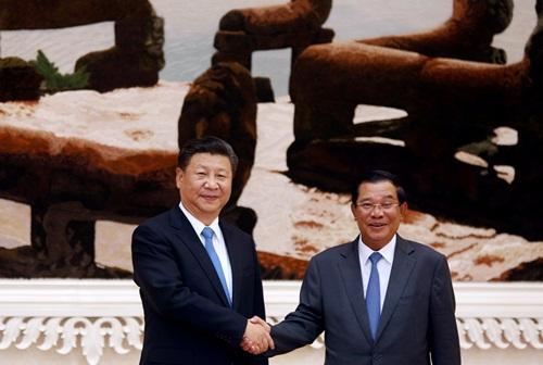 Trung Quốc xóa nợ 600 triệu nhân dân tệ cho Campuchia 1