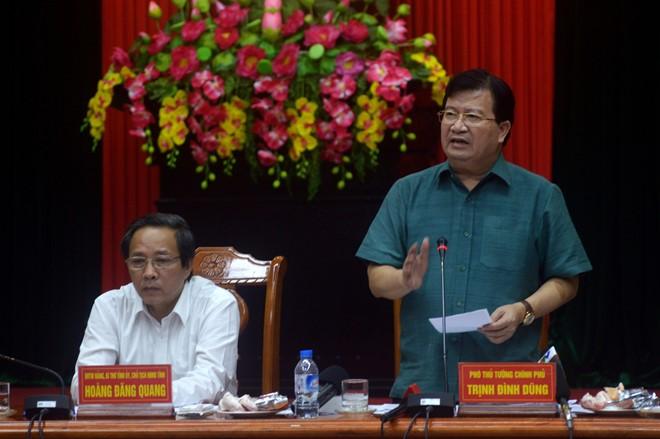 Mưa lũ tàn phá Quảng Bình: Phó Thủ tướng trực tiếp chỉ đạo khắc phục hậu quả 1