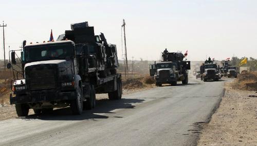 Iraq bắt đầu chiến dịch truy quét IS tại Mosul 2