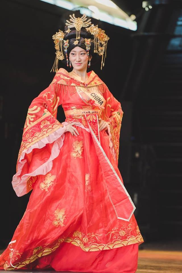 Hoa hậu Trung Quốc tại Miss Grand International bị chê nhan sắc giống đàn ông 2