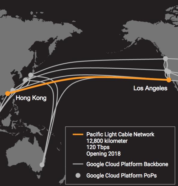 Hình ảnh Facebook và Google hợp tác đặt cáp quang xuyên Thái Bình Dương số 1