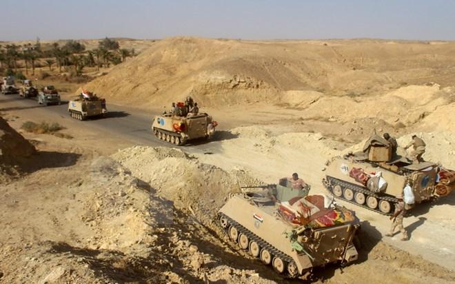 Quân đội Iraq tổng tấn công IS, khép chặt vòng vây Mosul 1