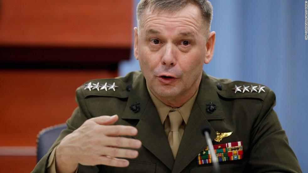 Tướng 4 sao Mỹ thừa nhận tiết lộ tin tuyệt mật cho truyền thông 1