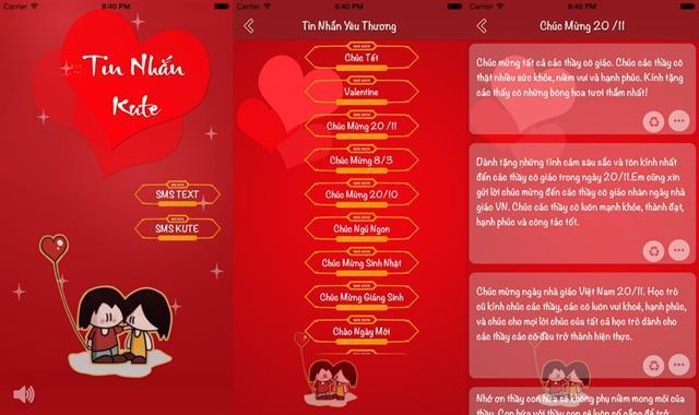 6 ứng dụng nhắn gửi lời yêu thương dành cho ngày Phụ Nữ Việt Nam 5