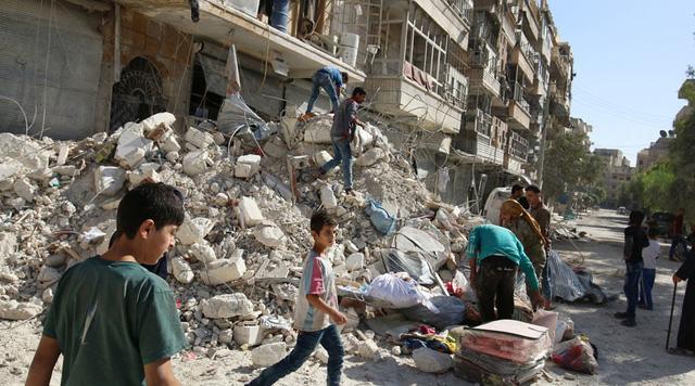 Nga – Syria ngừng không kích Aleppo 1
