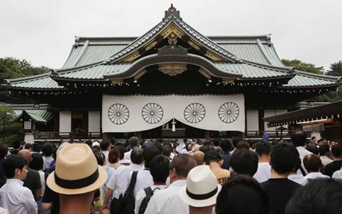 Quan chức Nhật thăm đền Yasukuni chọc giận Trung - Hàn 1