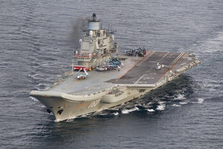 Tại sao Putin 'tháo xích' cho tàu sân bay 1