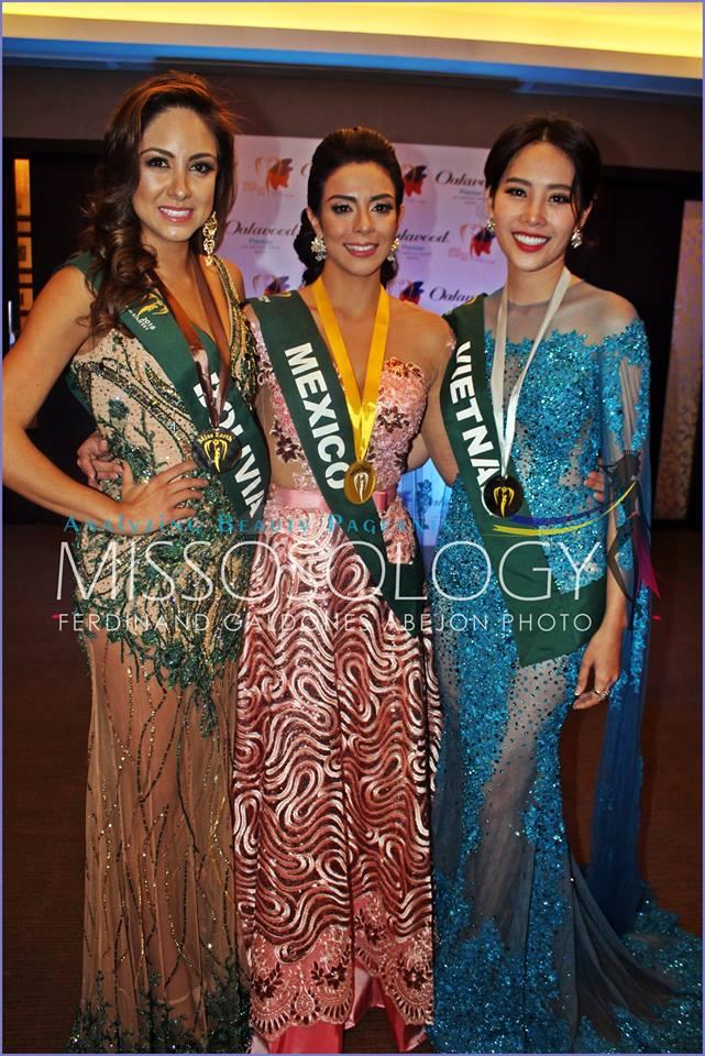 Nam Em giành tiếp Huy chương bạc tại Miss Earth 2016 1