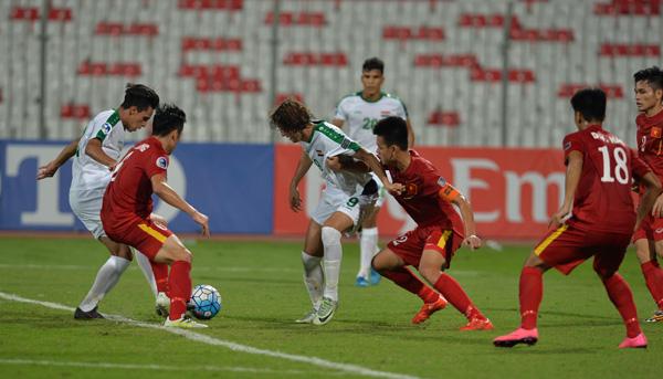 Chơi tử thủ trước Iraq, U19 Việt Nam lần đầu vào tứ kết VCK U19 châu Á 1