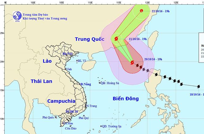 Bão số 8 hoành hành ở bắc Biển Đông, VNA đổi lịch bay đi Đài Loan, HK 1