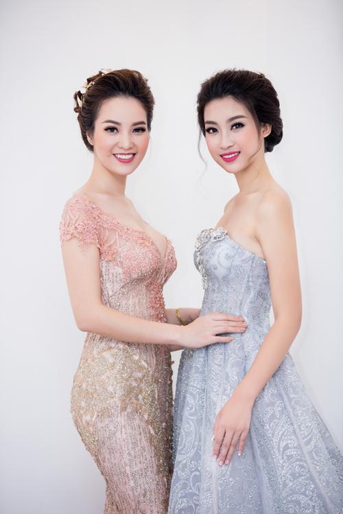 Hoa hậu Mỹ Linh bất ngờ diện váy cưới 4