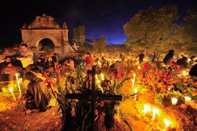 Lạnh người khám phá 'lễ hội người chết' ở Mexico 3