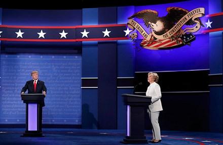Trump lại nhắc đến Việt Nam trong phiên tranh luận với Clinton 1