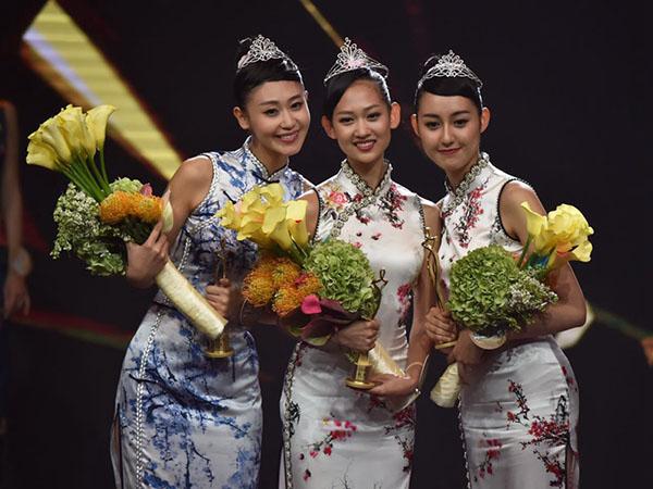 Nhan sắc Tân Hoa hậu Hoàn cầu Trung Quốc gây tranh cãi 1