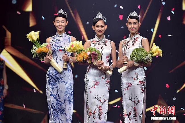 Nhan sắc Tân Hoa hậu Hoàn cầu Trung Quốc gây tranh cãi 2