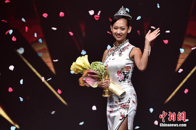 Nhan sắc Tân Hoa hậu Hoàn cầu Trung Quốc gây tranh cãi 3